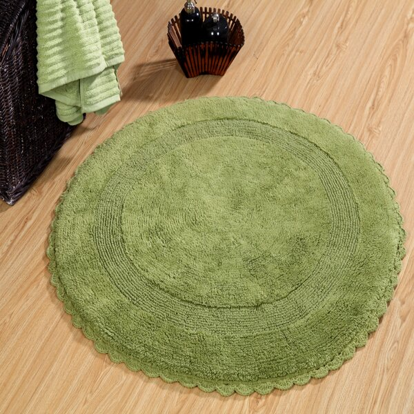 Natale 100% Soft Cotton Reversible Bath Rug by Beachcrest Home